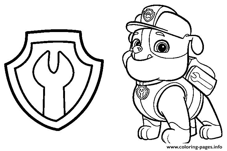 graphic regarding Paw Patrol Printable Pictures called Paw Patrol Coloring Web pages Free of charge down load great Paw Patrol