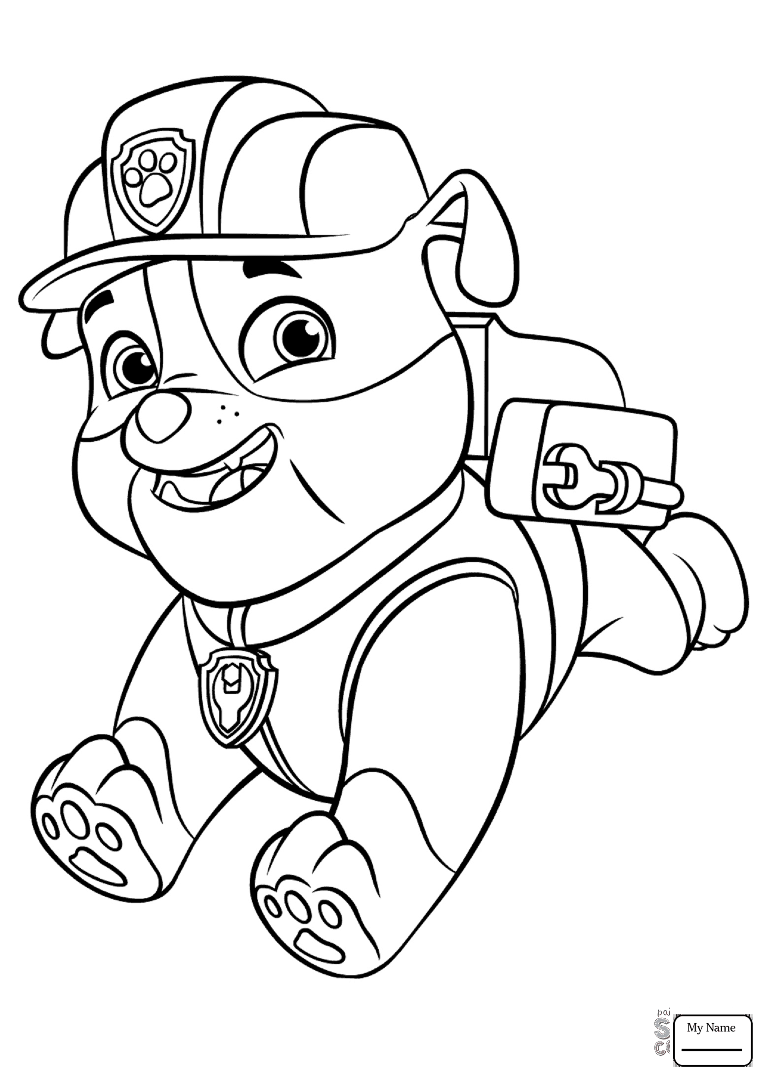 1547x2189 Coloring Pages For Kids Paw Patrol Paw Patrol Chase Cartoons