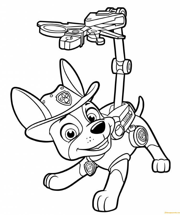 687x819 coloring paw patrol christmas coloring pages printable nick jr