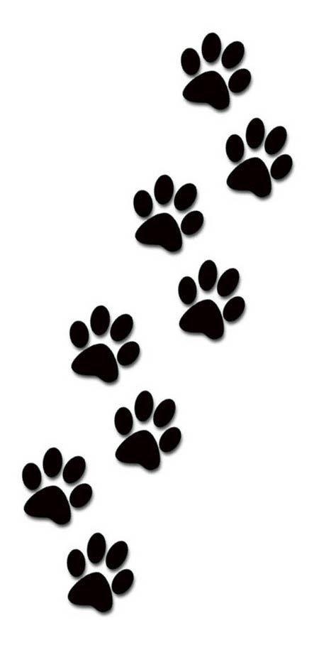 474x908 Dog Paw Print Clip Art Clipartandscrap