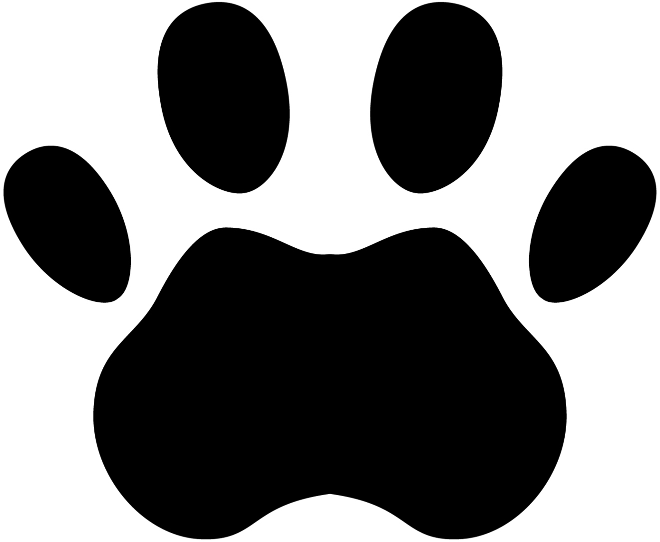 1322x1085 Paw Prints Tigers Paw Print Clipart Free To Use Clip Art Resource