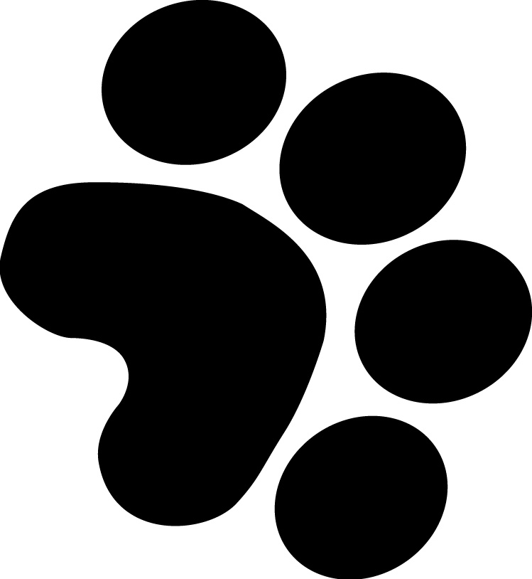 749x814 Badger Clipart Paw Print