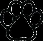 150x142 Free Clipart Dog Paw Print