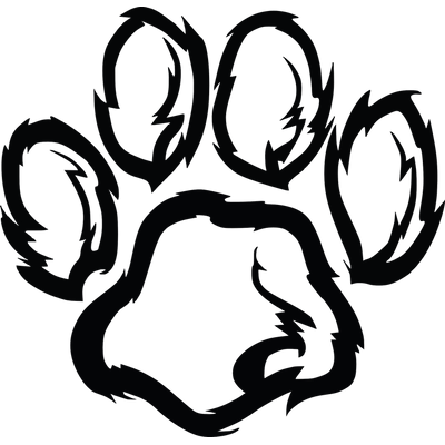 400x400 Cat Paw Print Transparent Png