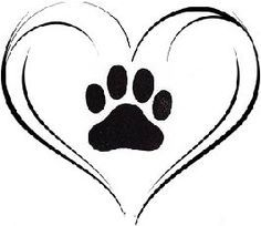 236x204 Cat Paw Print Pattern. Use The Printable Outline For Crafts