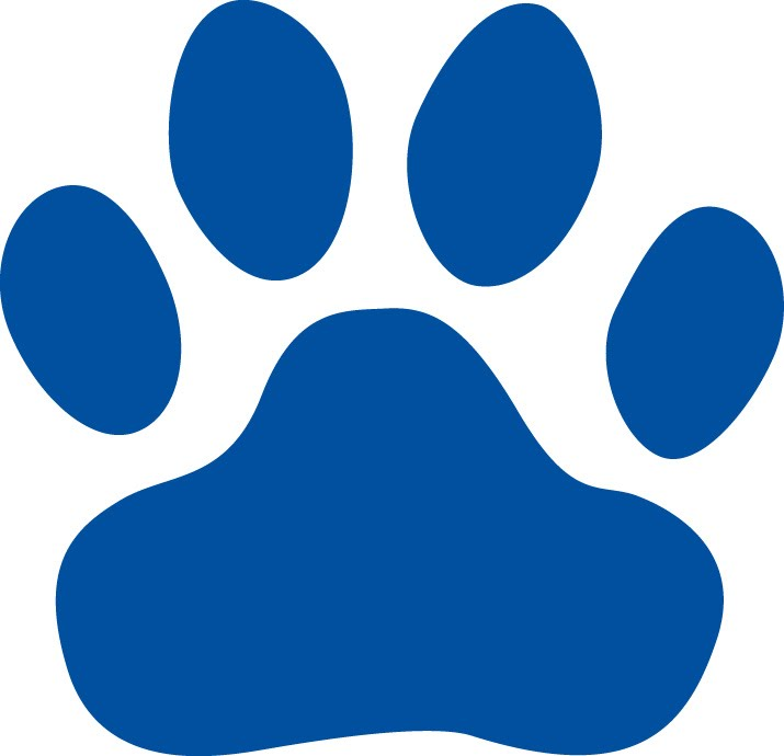 715x690 Panther Paw Print Clipart