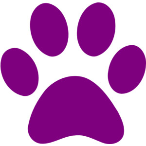 300x300 Paw Print Wildcats On Dog Paws Dog Paw Tattoos And Clip Art Image