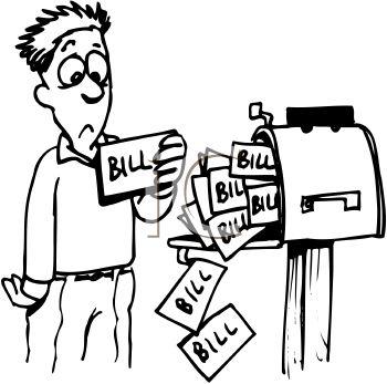 350x347 Statement Clipart Pay Bill