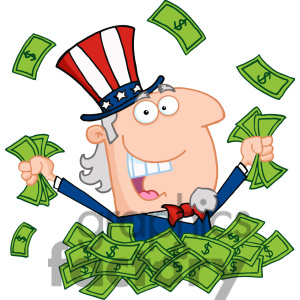300x300 Uncle Sam Clipart Pay Tax