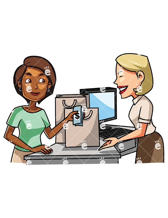 Paying Clipart