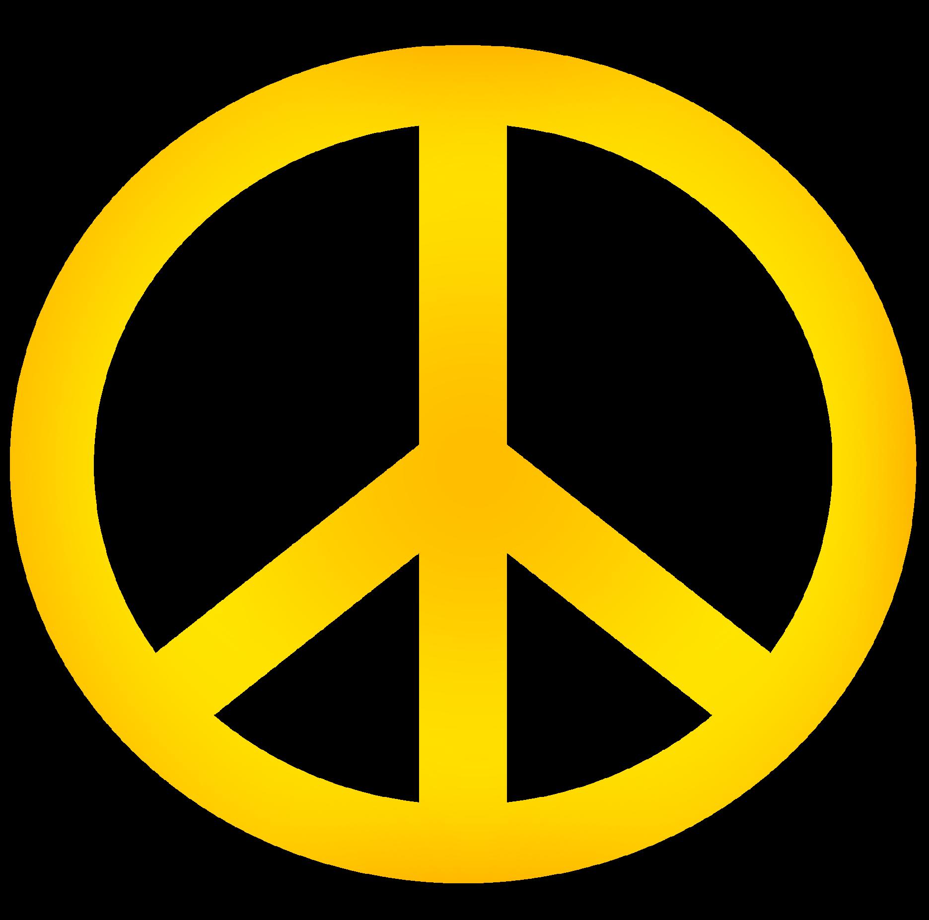 1871x1854 Peace Sign Clipart Border