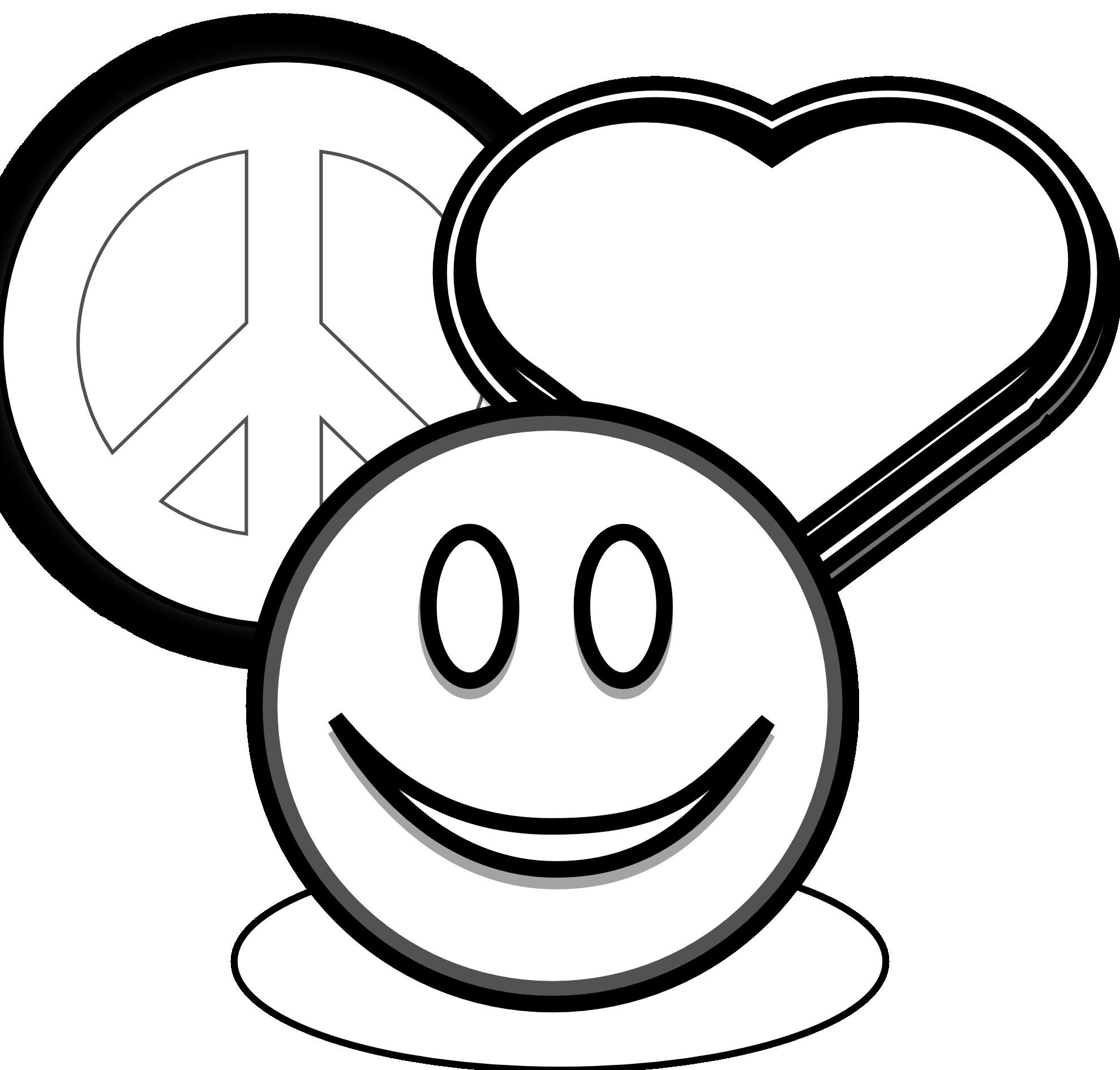 1979x1891 Clip Art Peace Love And Clipart Panda