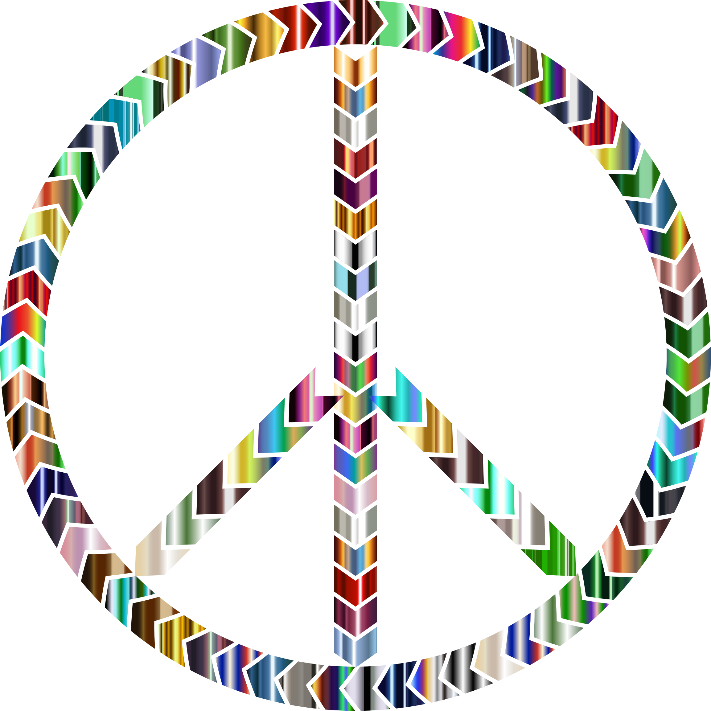 2306x2306 Peace Clipart Psychedelic
