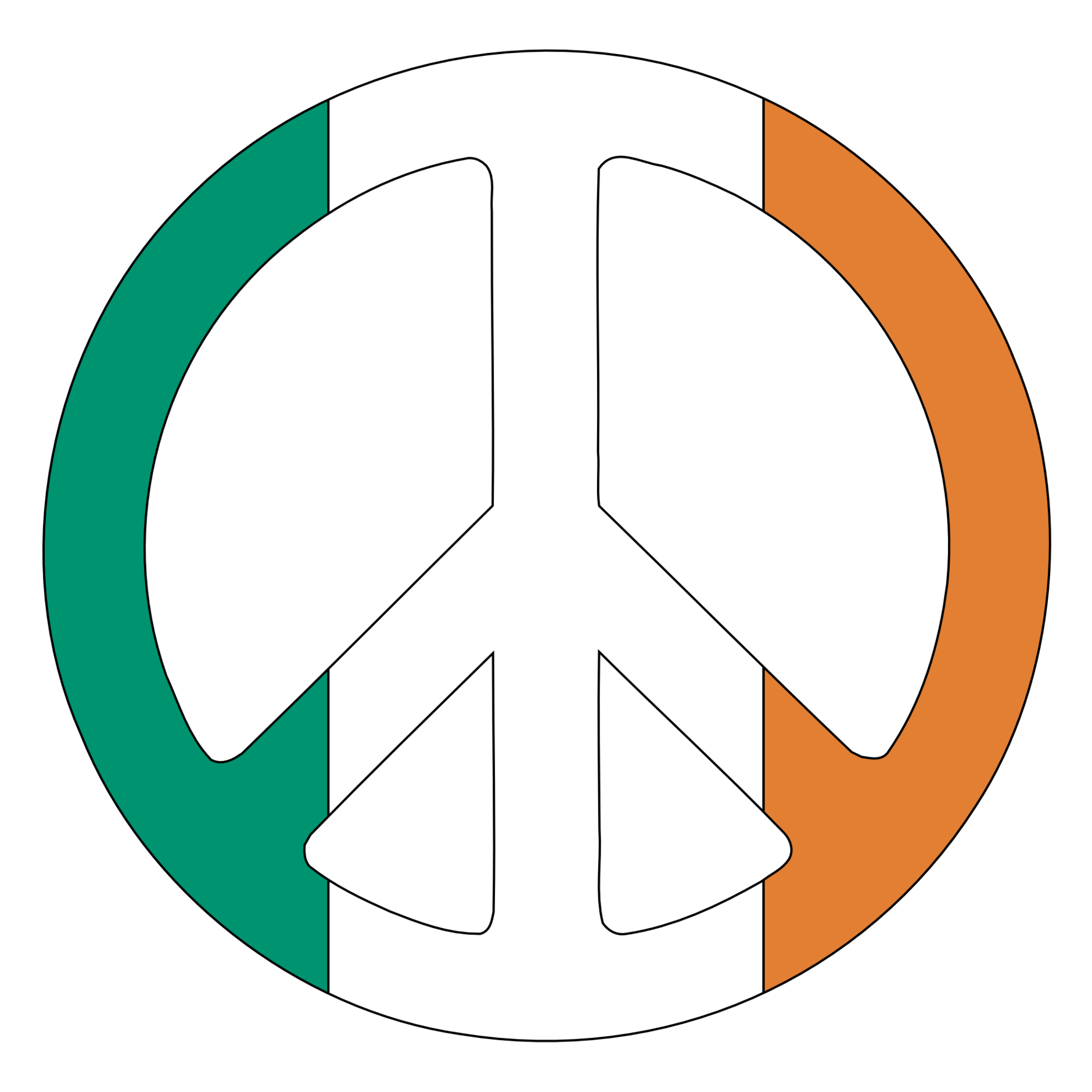 1880x1880 Peace Sign Hand Clipart