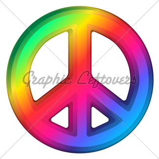 325x325 Mosaic Peace Sign Gl Stock Images