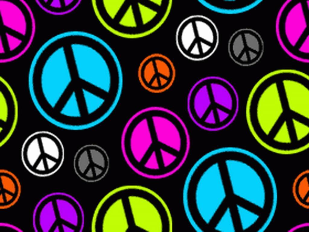 1024x768 Peace Sign Wallpapers