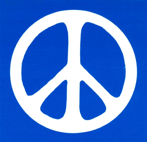 500x484 Peace Sign Bumper Stickers And Decals Peace Resource Project