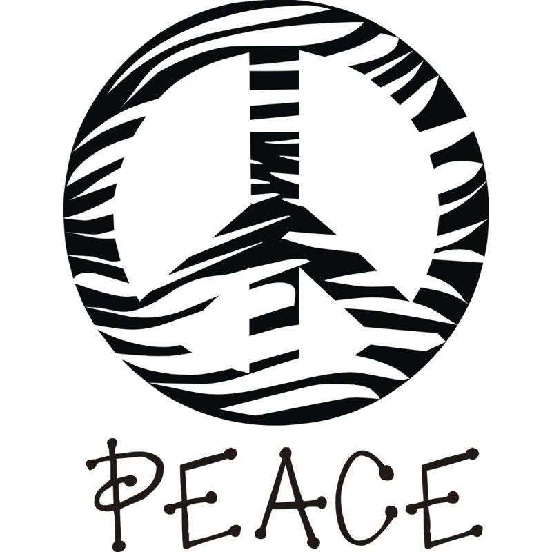 800x800 Mauve Clipart Peace Sign