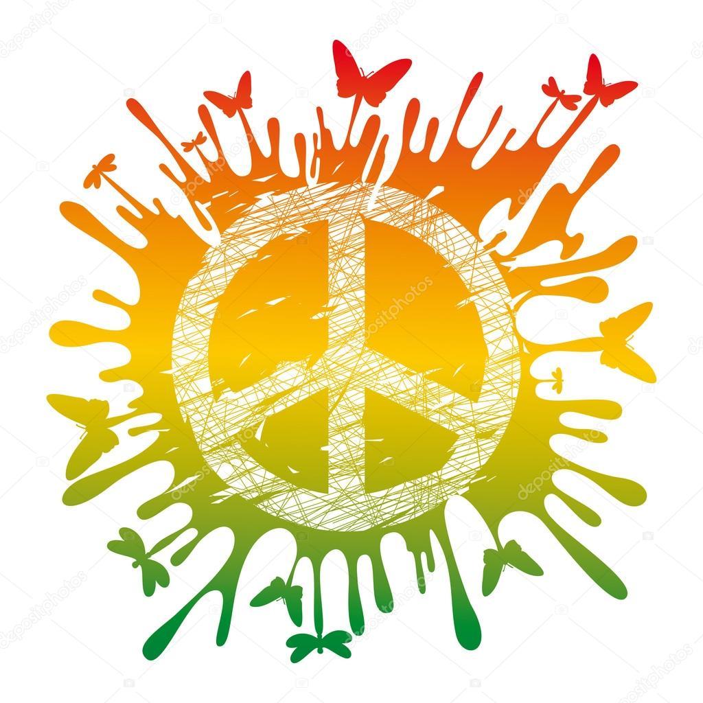 1024x1024 Peace Symbol Stock Vectors, Royalty Free Peace Symbol
