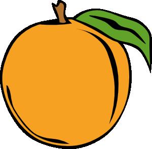 300x295 Peach Clip Art