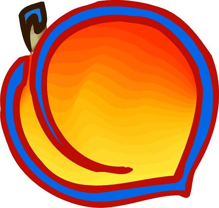 700x665 Best Peach Clip Art