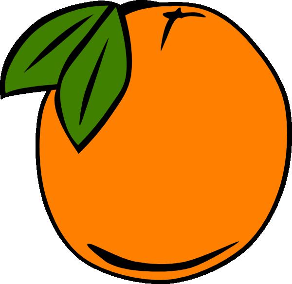 600x584 Peach Clip Art