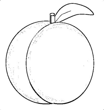 400x420 Peach Clip Art Peach Clipart Fans 4