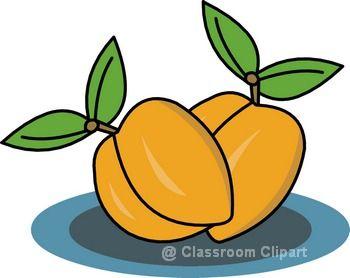 350x278 Peach Clip Art Clipart Cliparts For You