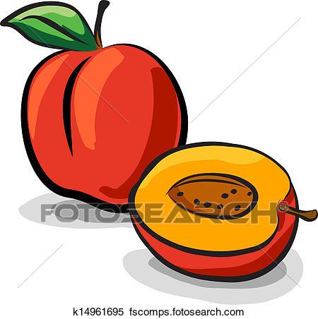 450x452 Peaches Clipart Eps Images. 7,818 Peaches Clip Art Vector