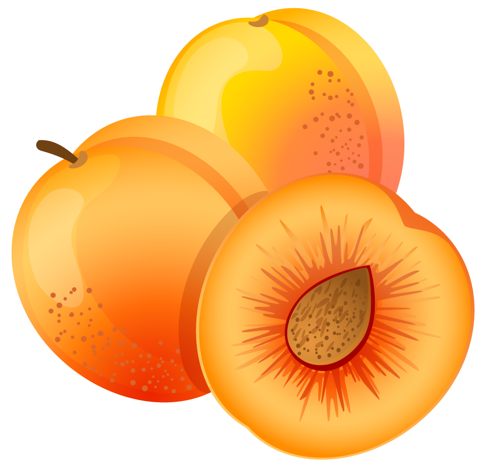 Peach Cliparts