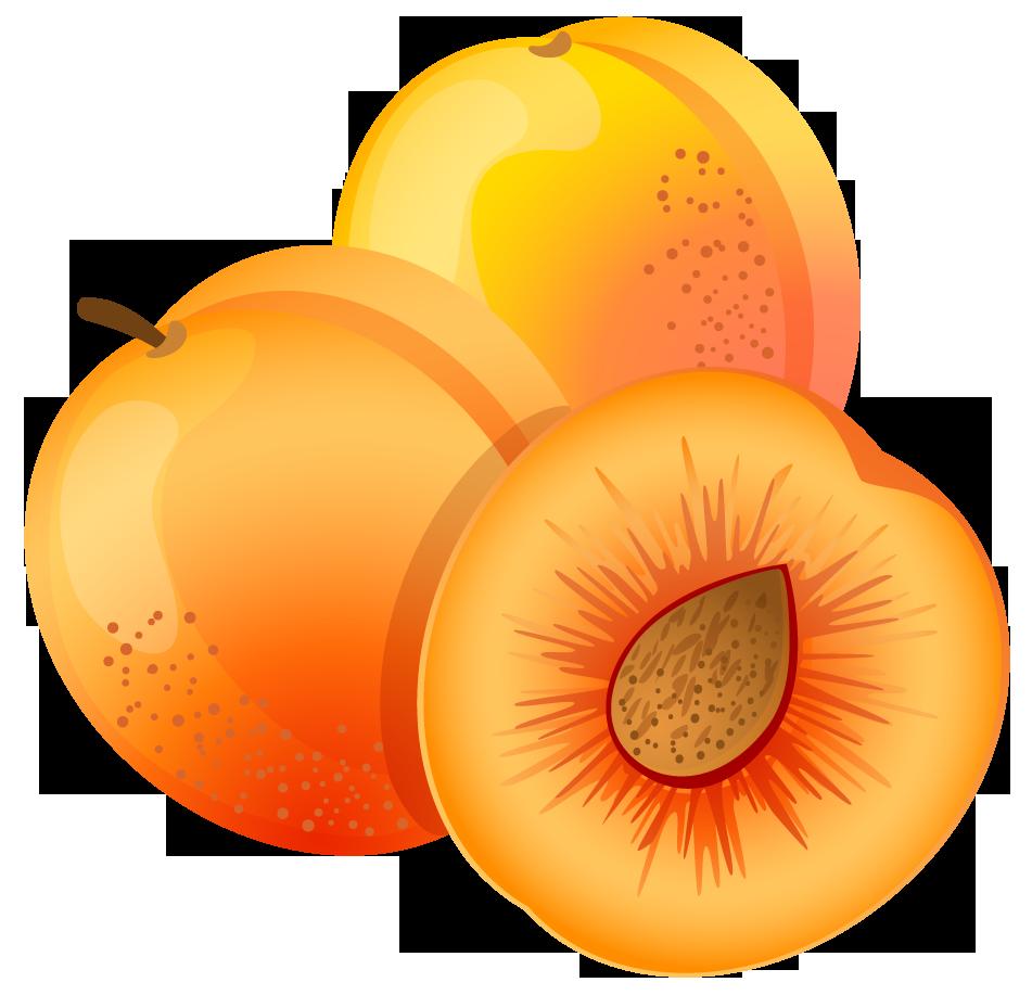 951x917 Apricot Clipart Peach Fruit