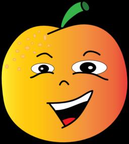 256x286 Peach Clipart Kid 3