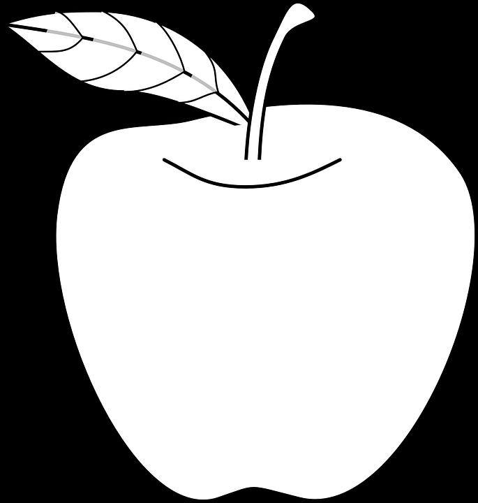 685x720 Peach Clipart Fruit Outline