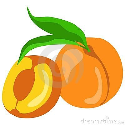 400x400 Georgia Peaches Clipart