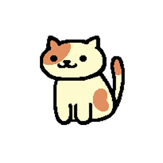 570x570 Neko Atsume Cross Stitch Pattern Peaches Game Accurate
