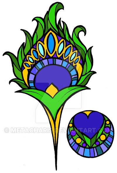 400x591 Peacock Clipart Art Nouveau