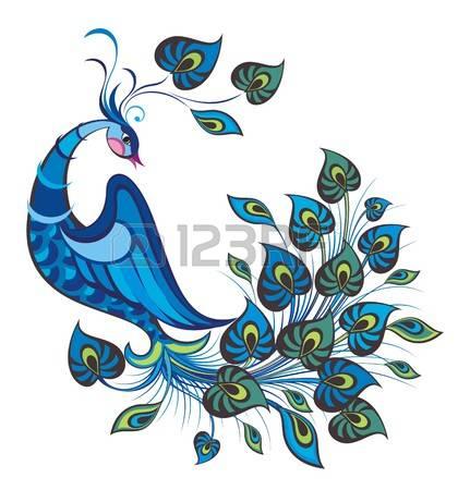 420x450 Peacock Clipart Peafowl