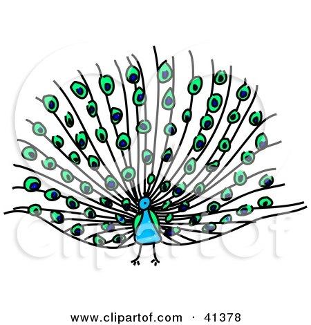 450x470 Clip Art Peacock Plumage Cliparts