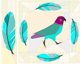 340x270 Feather Border Etsy