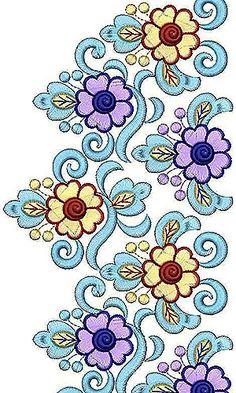 236x393 Peacock Bird Design Peacock Paon Embroidery, Hand