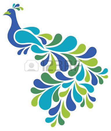383x450 Peacock Clip Art Free Clipart