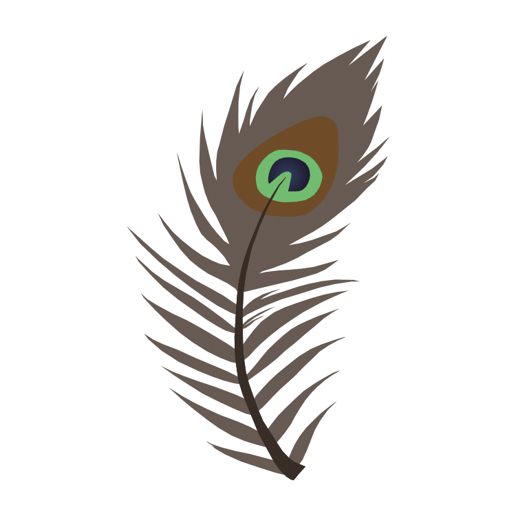 750x750 Peacock Feather Cutie Mark