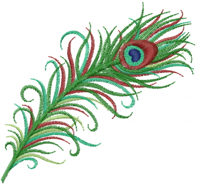 400x374 Peacock Feather Embroidery Designs, Machine Embroidery Designs