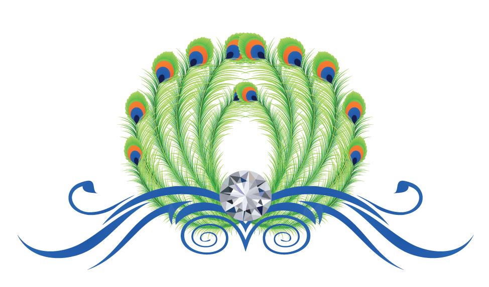 974x573 Design Free Logo Peacock Feathers Online Logo Template