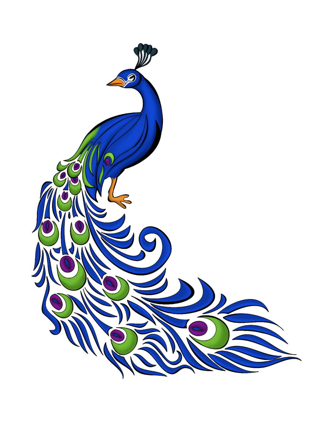 1024x1365 Download Peacock Feather Free Png Transparent Image And Clipart