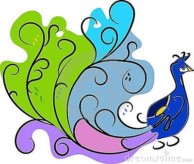 400x339 Peacock Clipart Images