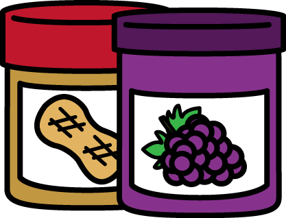 417x318 Free Peanut Butter And Jelly Clip Art By Mycutegraphics Play
