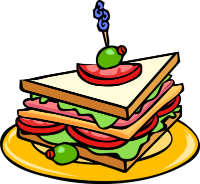 400x369 Free Sandwich Clipart, 1 Page Of Public Domain Clip Art
