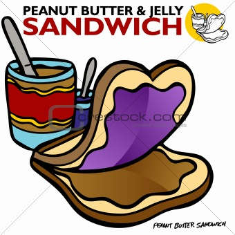 340x340 Image 3028814 Peanut Butter Jelly Sandwich From Crestock Stock Photos