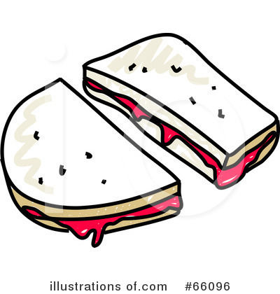 400x420 Pb And J Sandwich Clipart